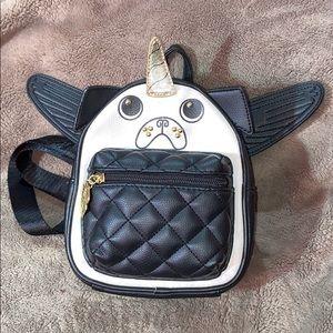 Pug Unicorn Mini Backpack by Luv Betsy